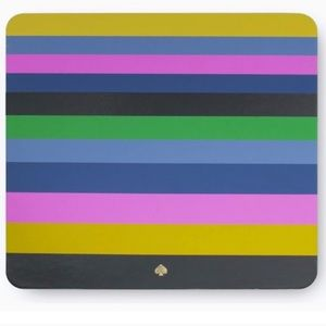Kate Spade mouse pad blue leather Brand New